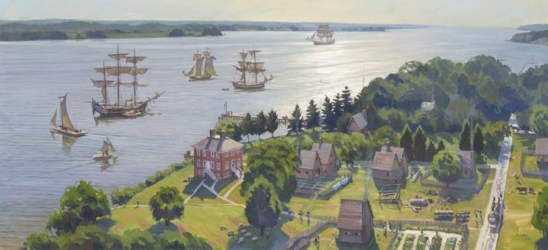 Superb The New Discover London Town! Museum Exhibit Has Opened To Public At  Historic London Town And Gardens In Edgewater, Maryland.